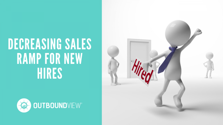 Decreasing Sales Ramp for New Hires