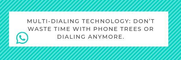 multi-dialing technology