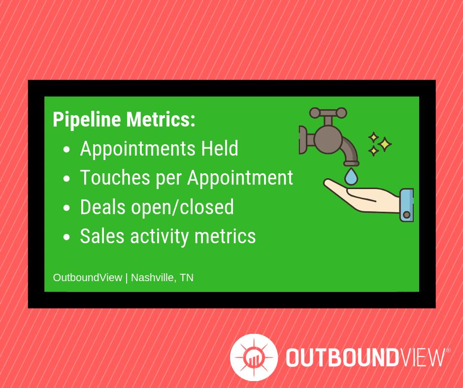 pipeline metrics