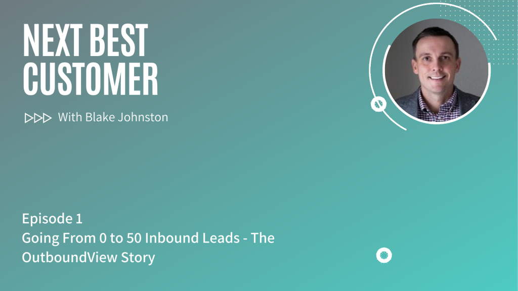 Podcast Episode 1_ Going From 0 to 50 Inbound Leads - The OutboundView Story